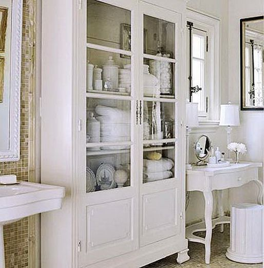 Organizing Bathroom Shelves: 123 Best Images About Organizing Bathroom On Pinterest