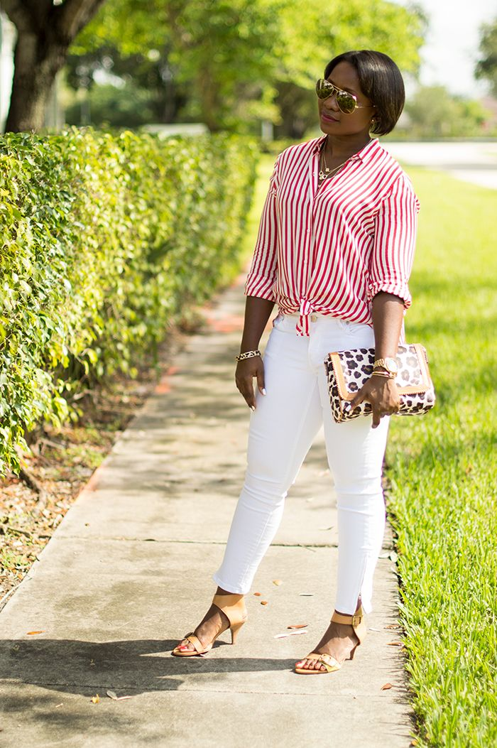 How to wear white jeans for Summer