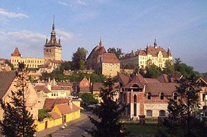 Founded by Transylvanian Saxons during the 12th century, Sighisoara (Schassburg in German) still stands as one of the most beautiful and best-preserved medieval towns in Europe.