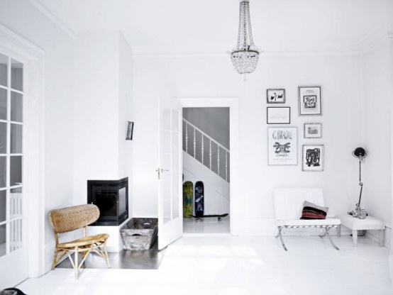 Modern Scandinavian House In White And Pastel Shades | DigsDigs