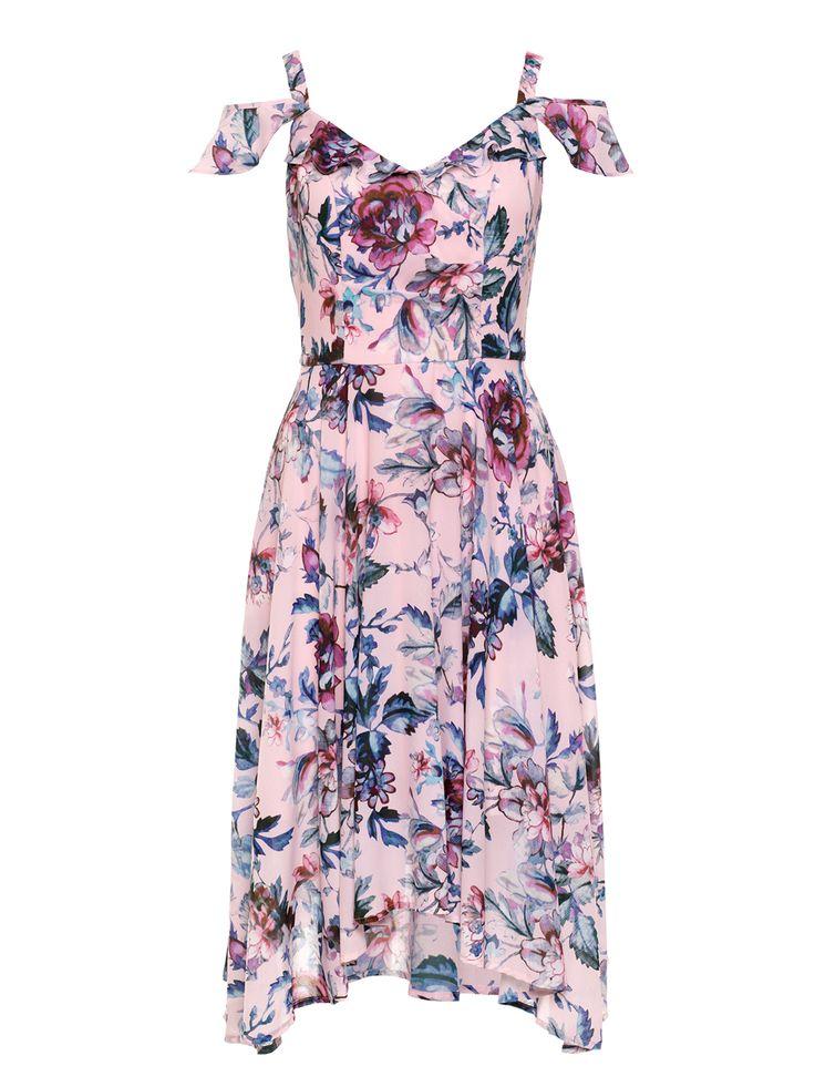 Endless Summer Dress | Blush And Multi | Dress