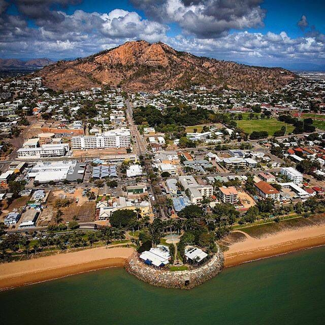 Townsville - views of Castle Hill & The Strand. Image by Cam The Snapper.
