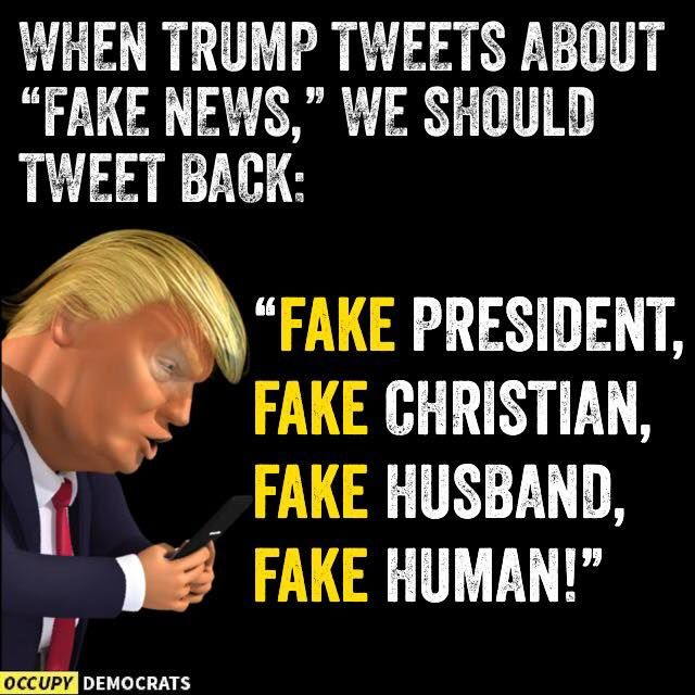 And don't forget all the fake campaign promises uttered only to get votes from the gullible. He is a liar and a horrible, trashy person.