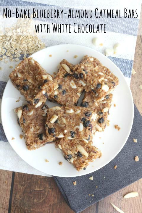 These addictively delicious No-Bake Oatmeal Bars feature crunchy almonds, sweet-…