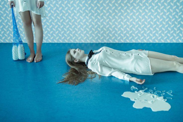 Milkiller - Model: Marketa Pakostova, Eliska Bydzovska MUA: Kristyna V.isage Photo: nejmil.com