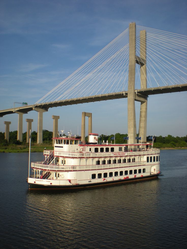 The River Street Riverboat Company offers a variety of cruises aboard the Savannah River Queen and the Georgia Queen, replicas of the river boats that cruised America's rivers in days gone by…