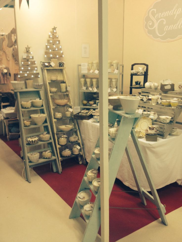 My stand at Country Living Christmas Fair Harrogate 2013