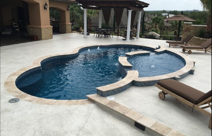 1000 Ideas About Small Fiberglass Pools On Pinterest