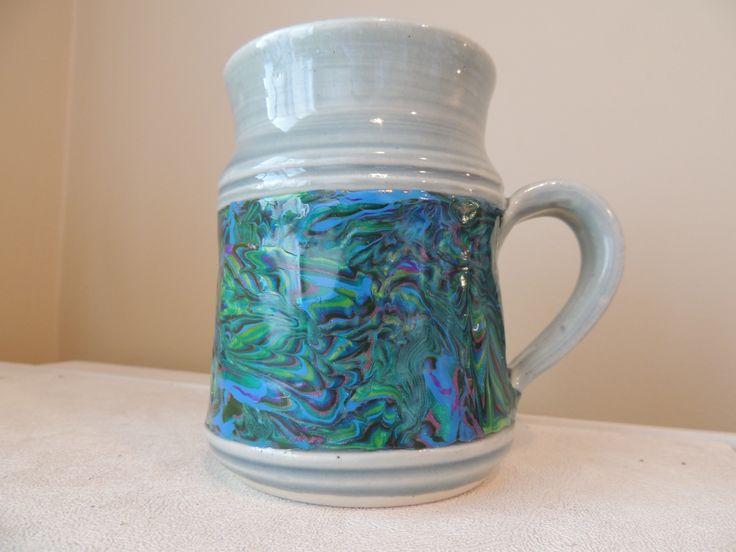 Polymer band on mug
