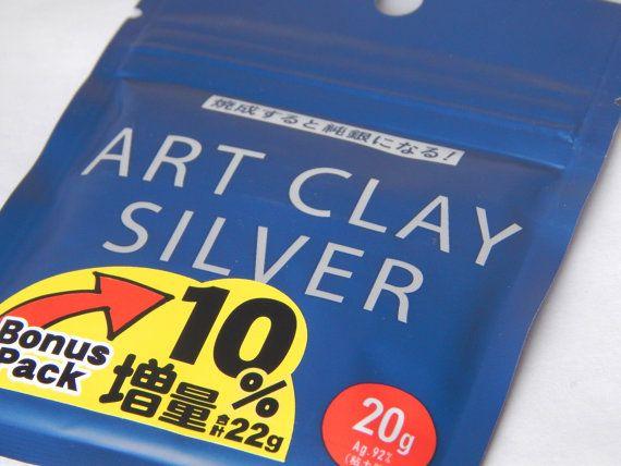 Art Clay Silver 20g Precious Metal Clay by BirdsongSupply on Etsy