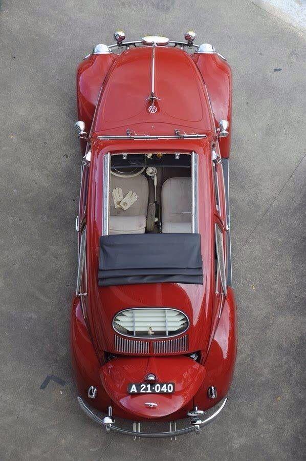 Visit The MACHINE Shop Café... ❤ Best of VW @ MACHINE ❤ (Volkswagen Beetle Ragtop)