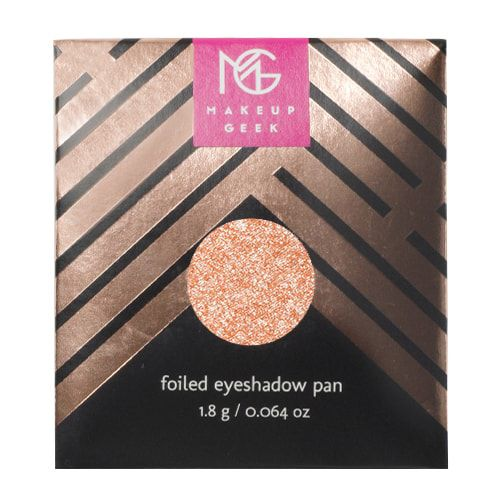 Shade: In The Spotlight - Makeup Geek Foiled Eyeshadow Pan - ☽ pinterest: charlottegrac3 ☾