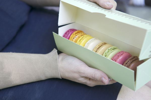 La Duree. My all time favorite cookies. Maybe my all time favorite anything.