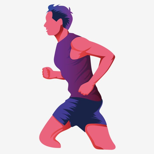 Grey Creative Running Men S Elements Gray Creative Running Man Png And Vector With Transparent Background For Free Download Running Workouts Running Man Popular Workouts