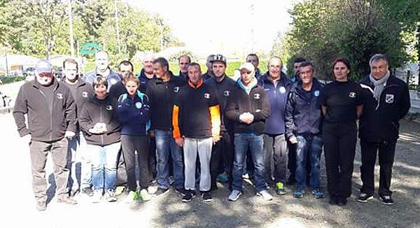 Coupe de France de pétanque ZONE 01 : Marmande VS St-Léon-sur-L'Isle