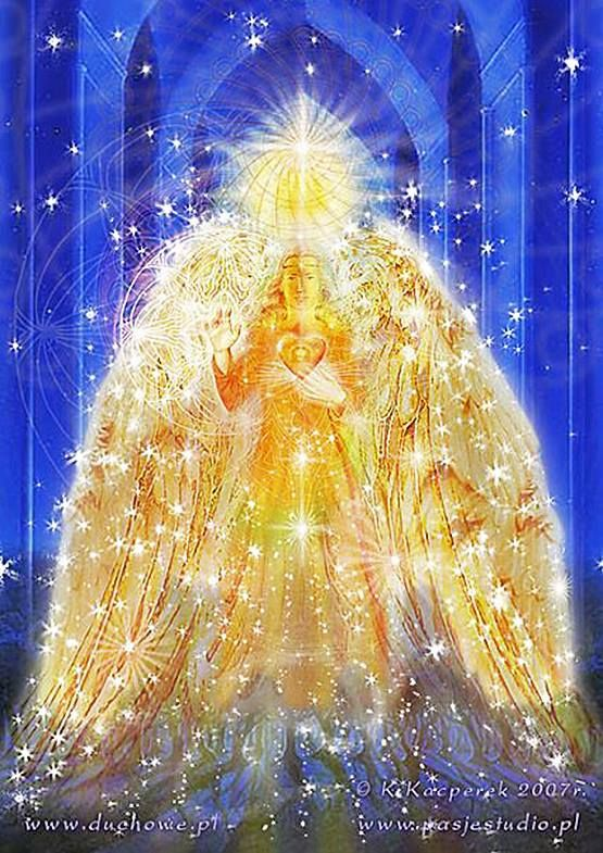 Archangel Uriel - angel of Fire. Helps you to release your fears & anger, letting go of the past.