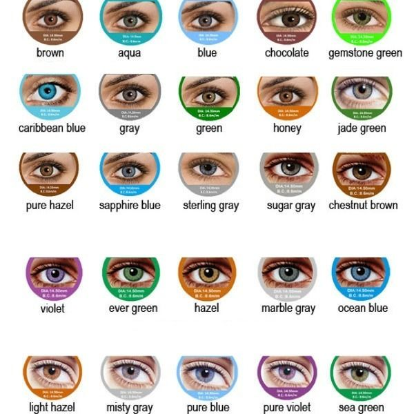 Fresh Eyes Contact Lenses #shopsmall BUY NOW $9.99