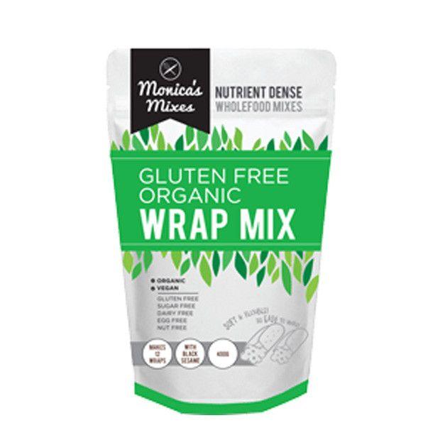 Monica's Mixes Gluten Free Organic Wrap Mix 350g