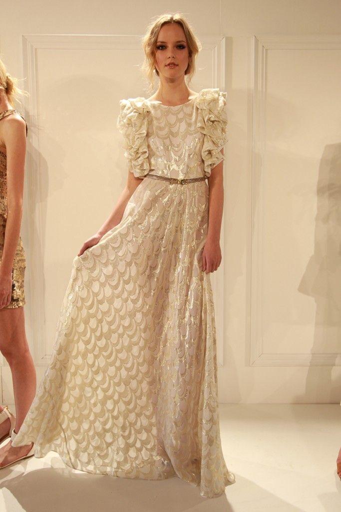 this dress by Rachel Zoe is bananas.