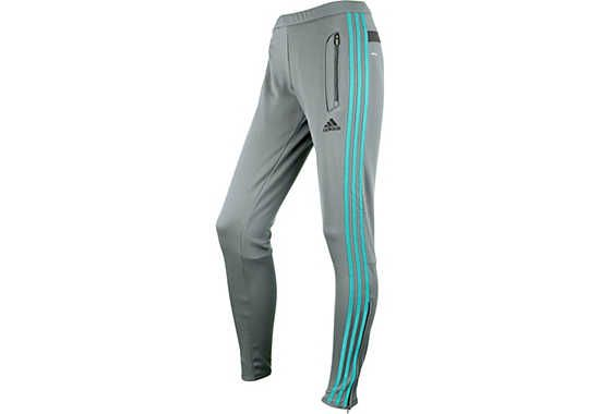 adidas Tiro 13 Womens Training Pants - Light Onix and Mint