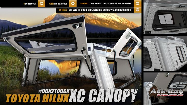 Our Toyota Hilux XC Canopy, a must for every Hilux.