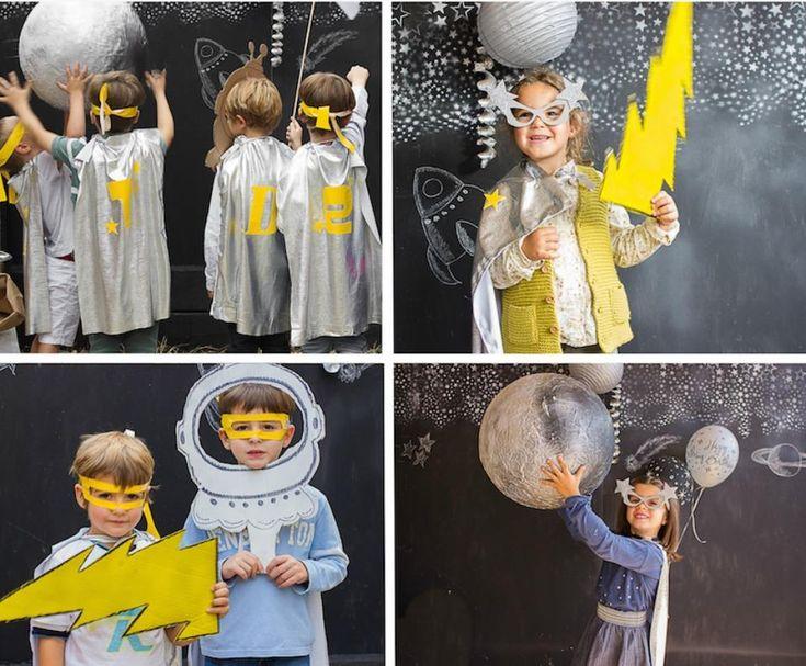 Una fiesta de cumpleaños genial pensada para los amantes del espacio.