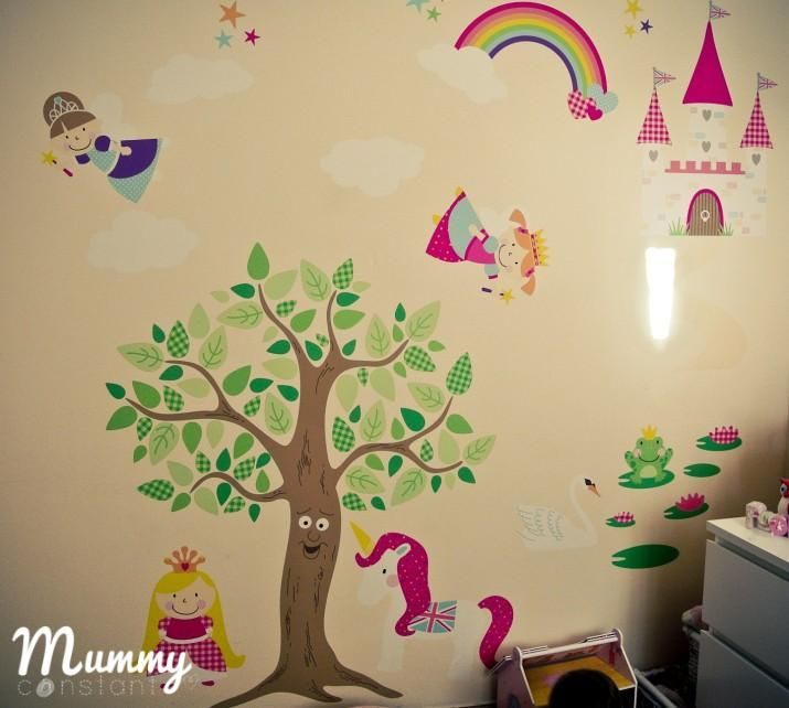 ... Amazing Fairy Princess Wall Mural Pictures Part 67