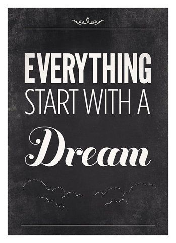 #dream #quote #inspiration PhiloSophie's did!  www.shopsophies.com