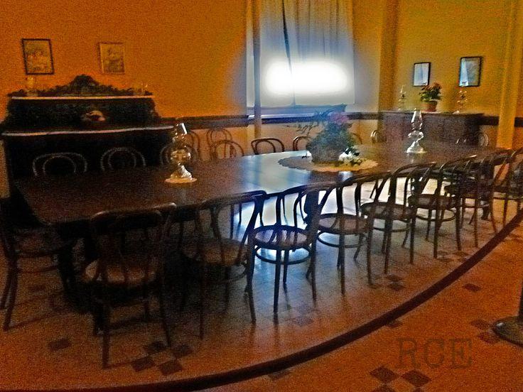 biltmore house servants dining room in basement