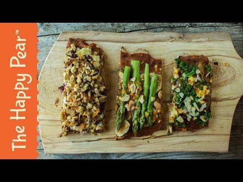 73 best youtube recipe videos images on pinterest recipe videos healthy vegan pizza x3 ways the happy pear vegan burritovegan pizzavegan foodrecipe videosplant forumfinder Choice Image