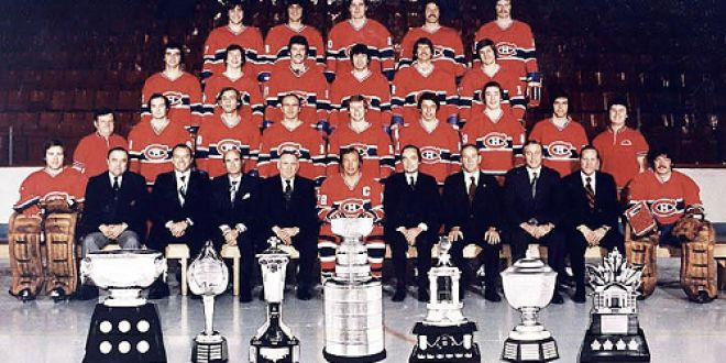 The 1975-1976 Montreal Canadiens:  Ranked as the greatest non all star hockey team in history.