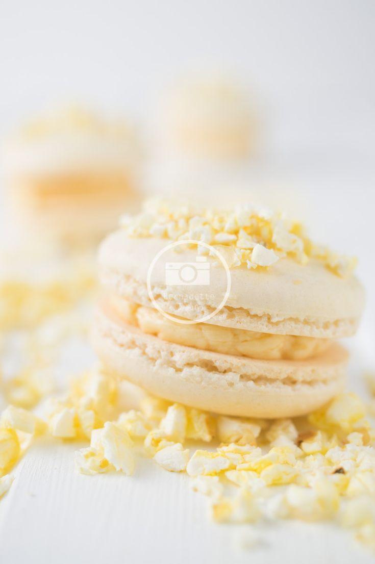 popcorn macaron recipe
