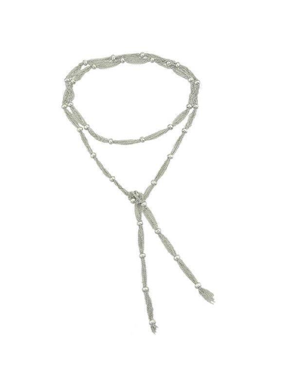Shop Silver Elegant Choker Necklace online. SheIn offers Silver Elegant Choker Necklace & more to fit your fashionable needs.