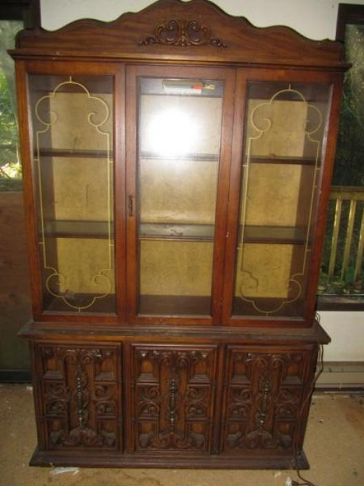 1960s China Cabinet Our China Cabinet Is Very Similar To