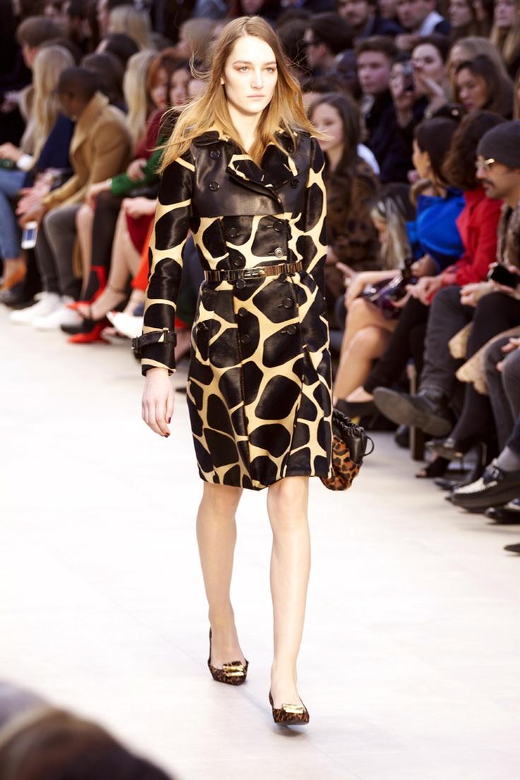 Factory Style: Burberry Prorsum womenswear fall winter 2013