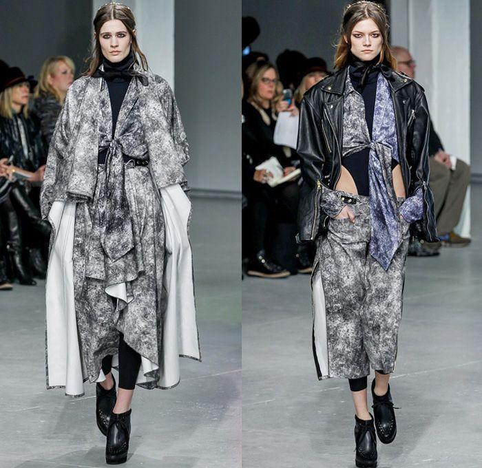 Rodarte 2013-2014 Fall Winter Womens Runway Collection - New York Fashion Week: Designer Denim Jeans Fashion: Season Collections, Runways, Lookbooks and Linesheets