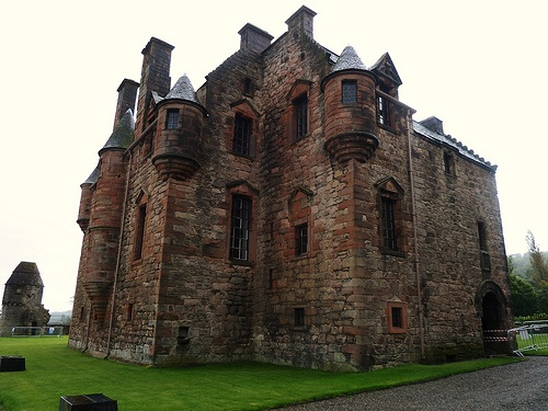 """Newark Castle, Port Glasgow Scotland. Otherwise known as """"granny's wee castle"""" this is across the street from my mother-in-law. She told the kids this was her castle."""