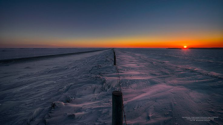https://flic.kr/p/Qh5JWK | Wide Open Sunrise | A winter sunrise on the Canadian prairie.  Website | Facebook | 500px | Instagram | Twitter  Thanks for the kind comments!