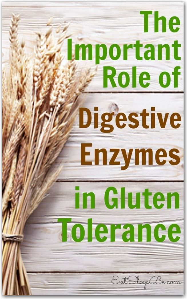 Have you gone gluten-free? Here's what you need to know about the importance of digestive enzymes in gluten intolerance.