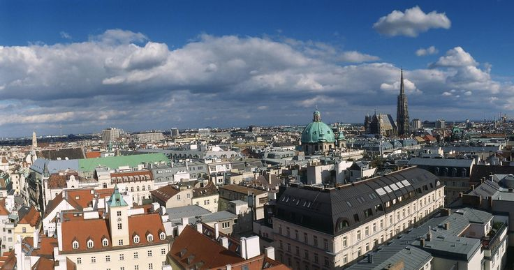 A typical day in Vienna begins with breakfast in a…