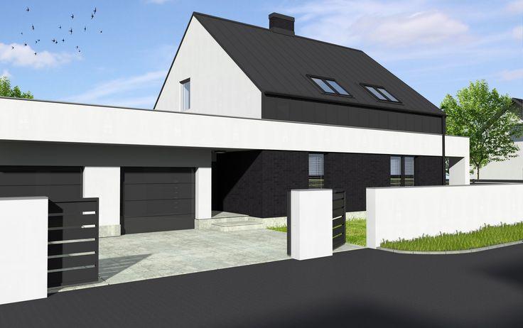 przebudowa i rozbudowa domu w Łodzi
