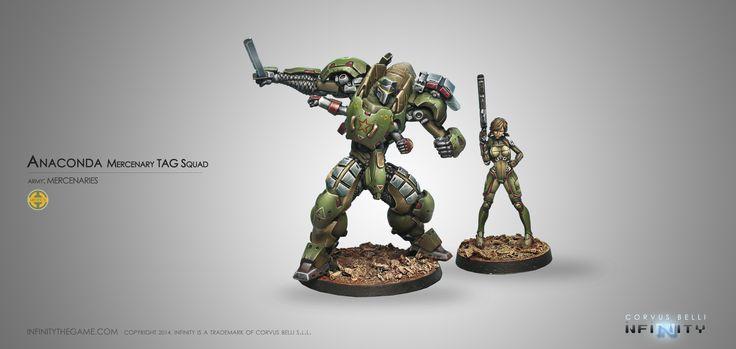 Anaconda, Mercenary T.A.G. Squad