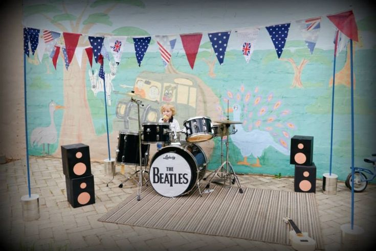 Beatles for Benjamin - coolest 3rd birthday party ever!