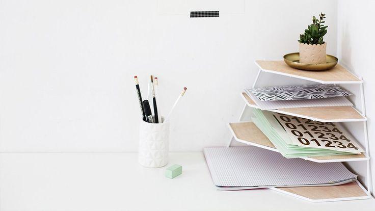 les 25 meilleures id es de la cat gorie trieur de bureau sur pinterest trieur papier range. Black Bedroom Furniture Sets. Home Design Ideas