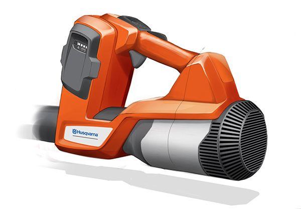 Husqvarna Professional Battery leaf blower on Industrial Design Served