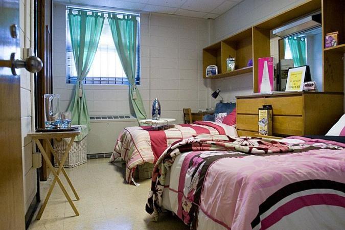 Cute Amp Standard Dorm Room Dorm Room Trends Pinterest