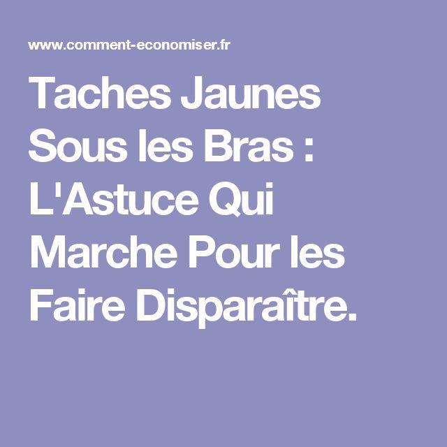 Taches Jaunes Sous les Bras : L'Astuce Qui Marche Pour les Faire Disparaître.