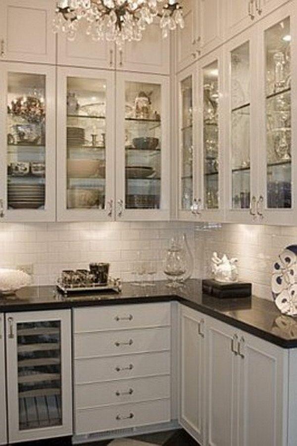 34 Beautiful Countertop Ideas For White Kitchen