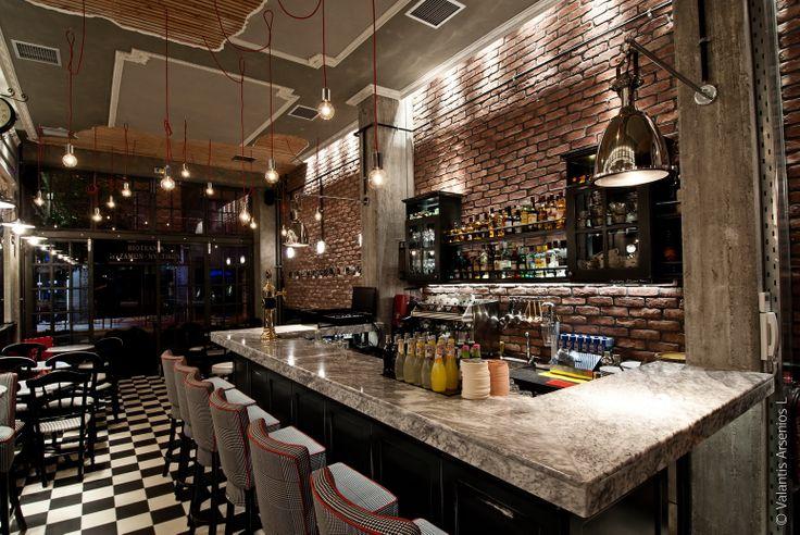 cafe bar BRIKI in Veroia Greece by Architect Dimitris Kouloudis.