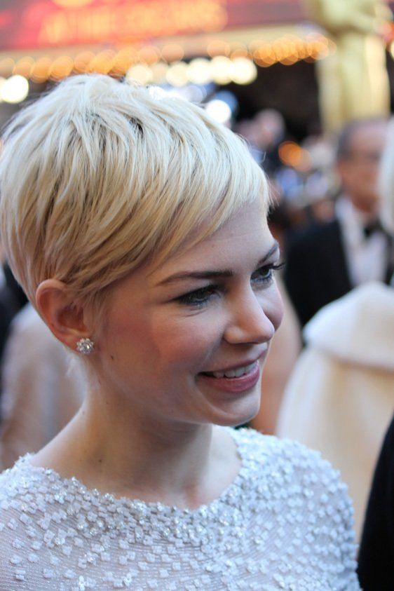 shortShort Hair, Blondes Pixie, Shorts Shorts, Shorts Hair, Hair Cut, Shorthair, Michelle Williams, Shorts Cut, Pixie Cut